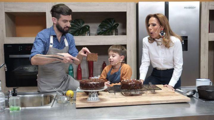 Cocinamos torta de naranjas y chocolate con Santino