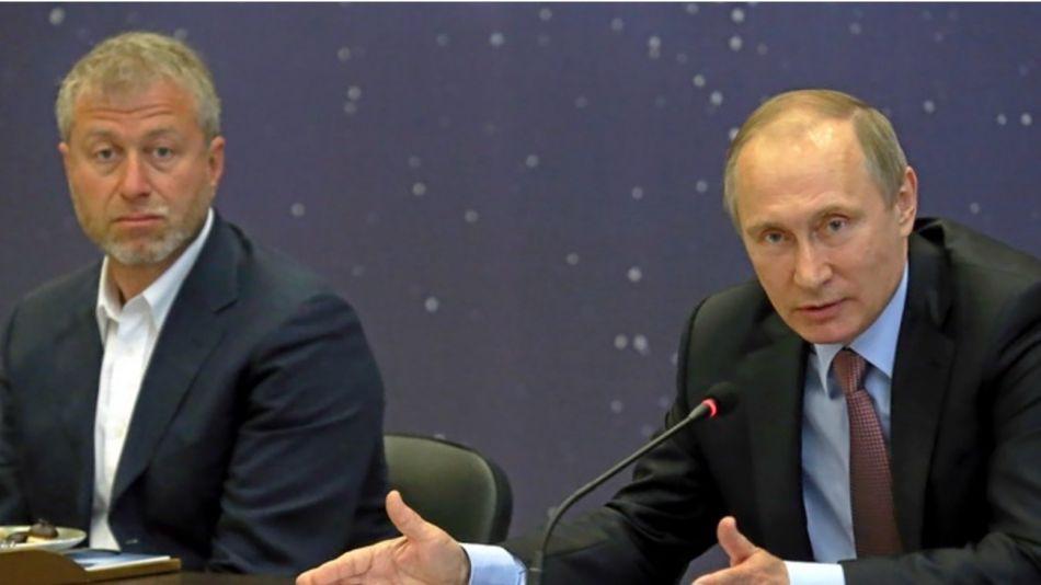 Abramovich y Vladimir Putin