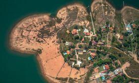 rio grande brazil river low drought