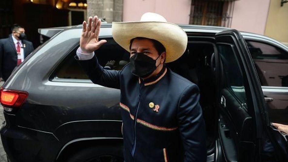 Peruvian President Pedro Castillo Takes Office