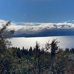 El invierno en Bariloche brinda unas imágenes realmente espectaculares.