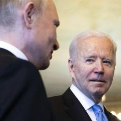 Biden y Putin en Ginebra | Foto:Bloomberg