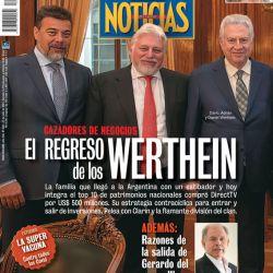 TAPA Nº 2327: El regreso de los Werthein | Foto:Pablo Temes