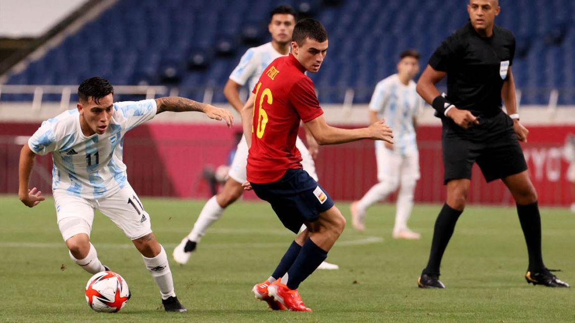 Argentina's Olympic Games Men's Football team on Wednesday joined the long and growing list of competitors to fall short in Tokyo, as a plucky draw against Spain proved insufficient to qualify from Group C ahead of the Europeans and Egypt
