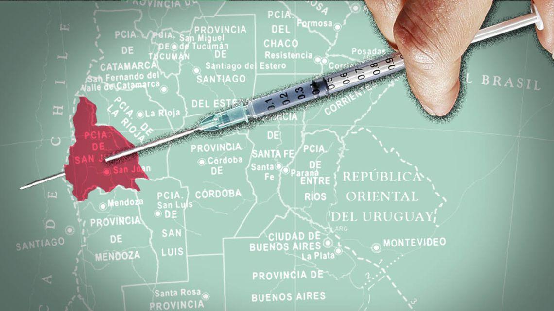 Lacking a million Sputnik V vaccines, San Juan wants its 18 millions euros back