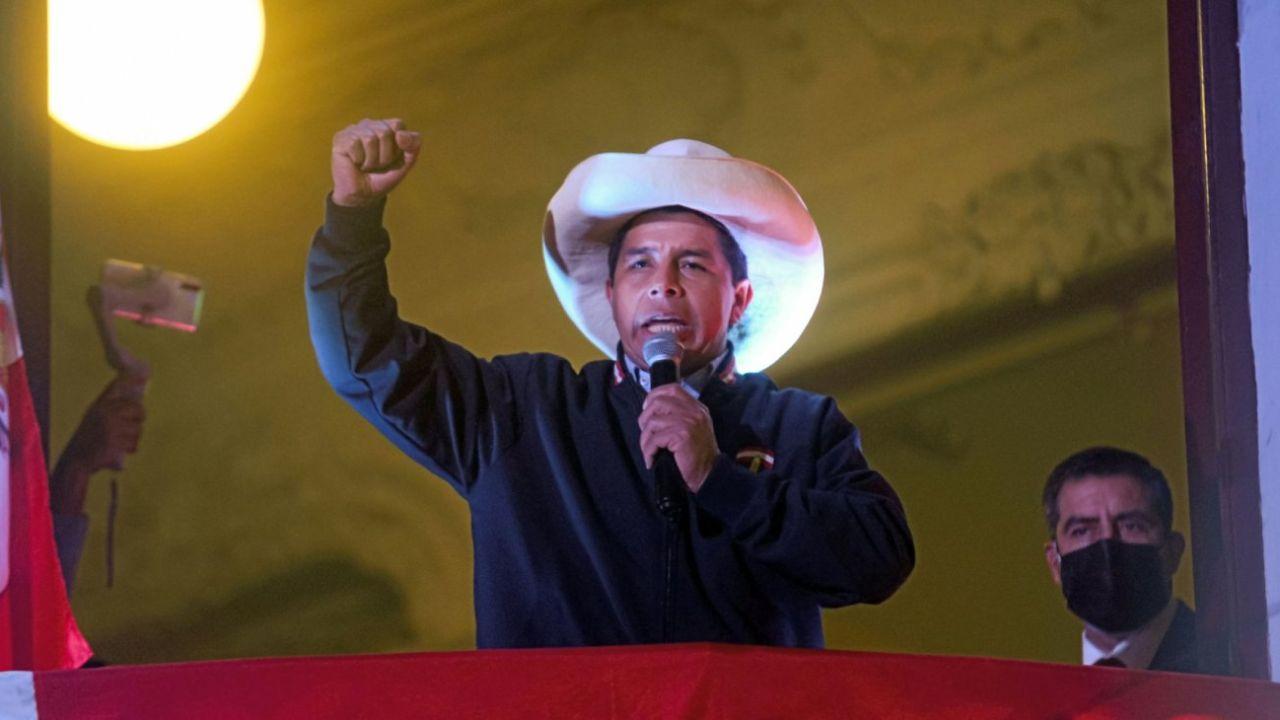 El presidente peruano, Pedro Castillo. | Foto:Bloomberg