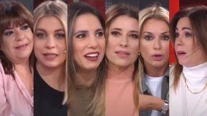 Yanina Latorre, Mariana Brey, Pía Shaw, Andrea Taboada, Cinthia Fernández y Maite Peñoñori 3007