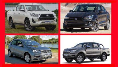 Los 15 autos 0km más vendidos en Argentina durante julio