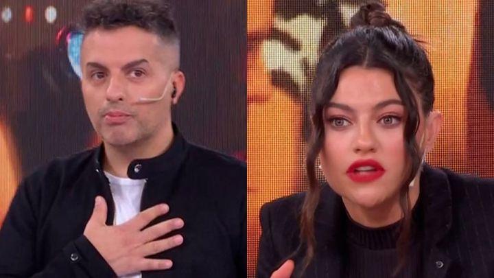 """Jujuy Jiménez ironizó con Ángel de Brito refiriéndose a Cabak: """"Puedo ser muy zorrita"""""""