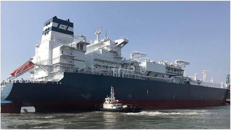 buque noruego varado 30072021