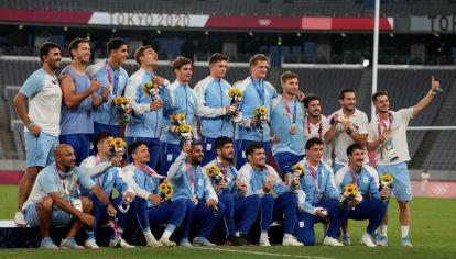 Rugido olímpico. Los Pumas, con cuatro jugadores cordobeses, cumplieron una destacada actuación.