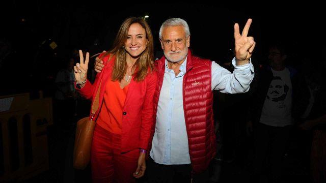 """Victoria Tolosa Paz y su esposo """"Pepe"""" Albistur"""