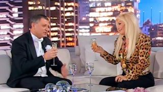 Gino Renni y Susana Gimenez