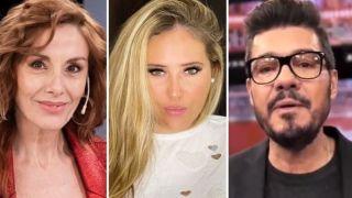 Viviana Saccone, Mar Tarres y Marcelo Tinelli