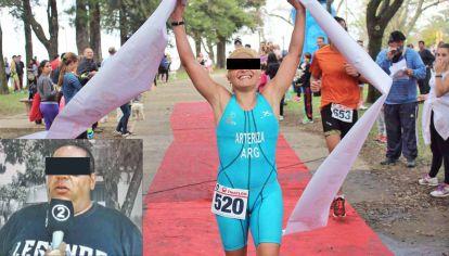 Presos. Sheila Arteriza, una ex triatlonista santafesina, y su pareja y entrenador, Walter Sales Rubio, fueron detenidos el jueves 22 de julio pasado. Los acusaron por cinco casos de abusos, pero en una semana se presentaron nueve supuestas víctimas más.