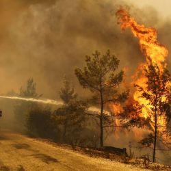 Turquìa està atravesando la peor temporada de incendios de los ùltimos 10 años.