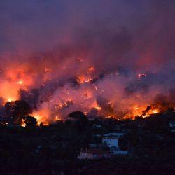 En lo que va del año en Grecia ya ardieron 13.500 hectáreas