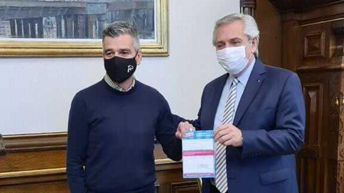 Hurlingham Mayor Juan Zabaleta, Argentina's next Social Development Minister.