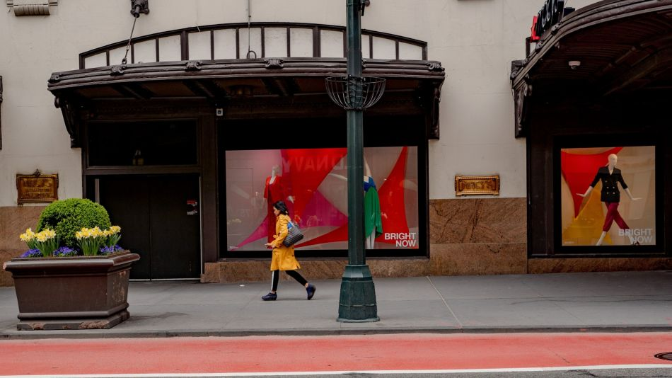 NYC Shops As Commercial Real Estate Take A Hit From Pandemic