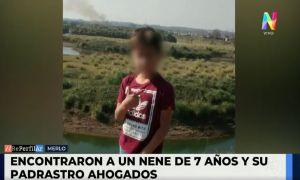 Encontraron a un nene de 7 años y a su padrastro ahogados en una tosquera