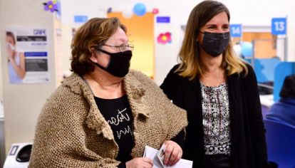 Fernanda Raverta titular del ANSES.