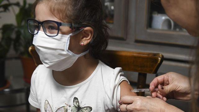 Vacunación niños