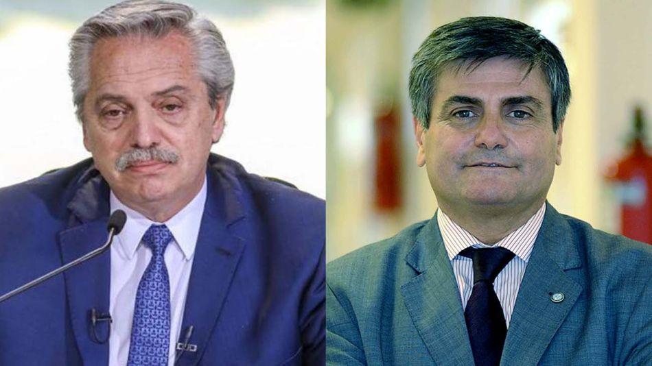 Alberto Fernández y Marcelo Gallo Tagle 20210803