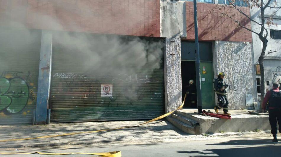 Incendio en Barracas 20210803