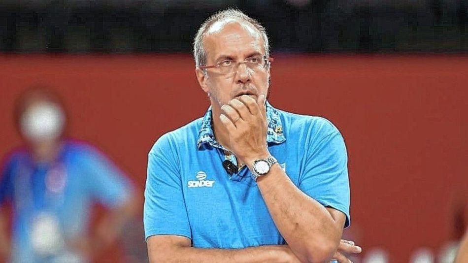 Marcelo Méndez DT de la selección argentina de Voley 20210803