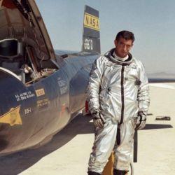 El X-15 alcanzó la velocidad récord de 3.440 km/h.