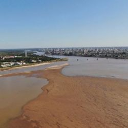 El INA realizó un informe sobre los escenarios posibles con la bajante del Río Paraná, y la situación es alarmante.