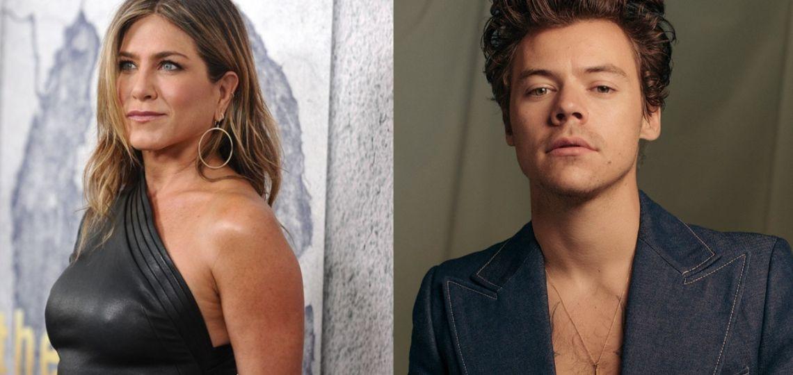 Jennifer Aniston y Harry Styles en Gucci ¿Quién lo lleva mejor?