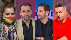 Nancy Pazos, Adrian Pallares, Rodrigo Lussich y Angel de Brito