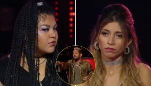 Esperanza y Jessica en La Voz Argentina