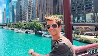 Las vacaciones de Gastón Dalmau en Chicago junto a su novio