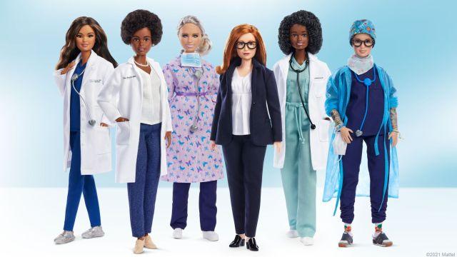 La Barbie científica de la vacuna contra el el COVID