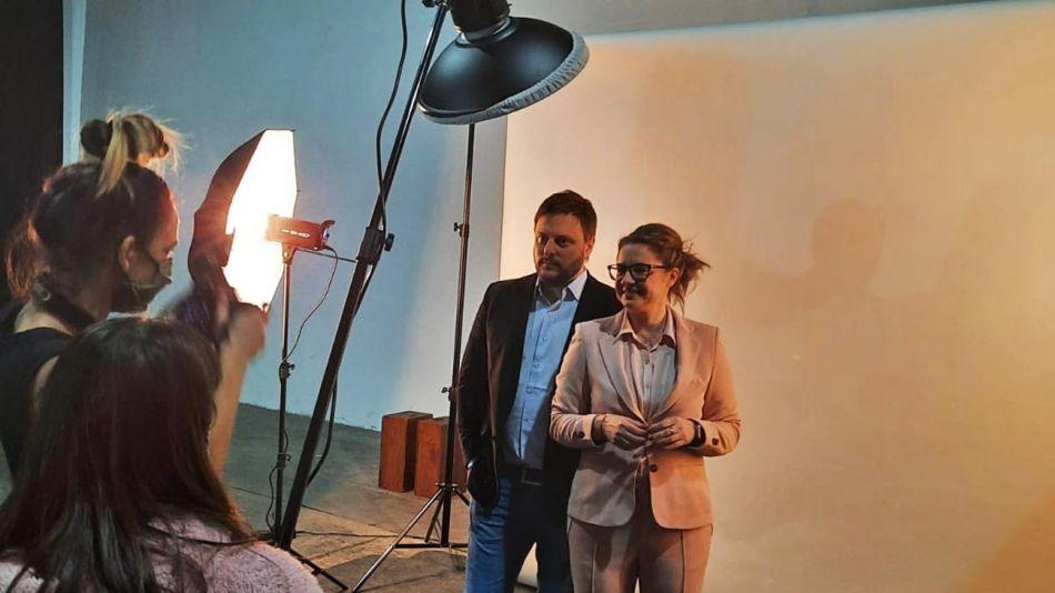 Leandro Santoro y Gisela Marziotta 20210804