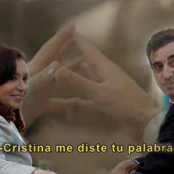 Cristina Kirchner y Florencio Randazzo   Foto:cedoc