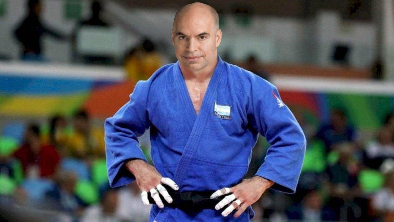 Larreta judoca.  | Foto:MS