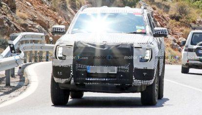 Aparece la nueva Ford Ranger híbrida