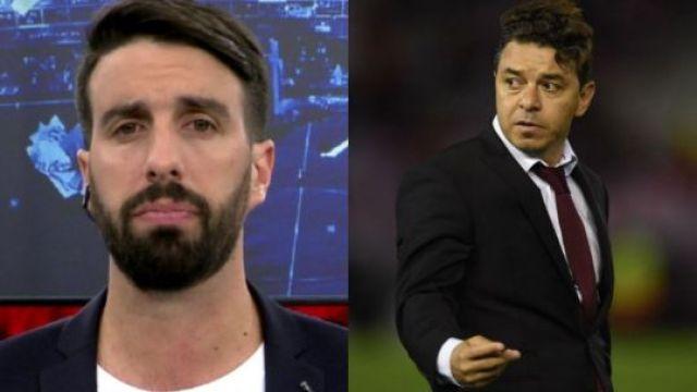 Flavio Azzaro y Marcelo Gallardo