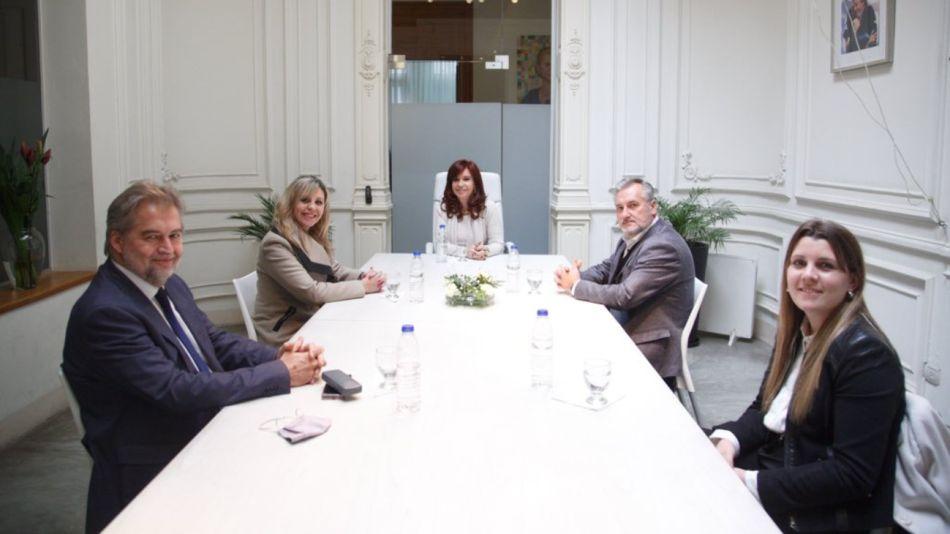 Cristina Kirchner instituto patria interna santafesina g_20210805