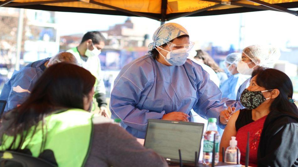 Vacunas GCBA barrios populares 20210805