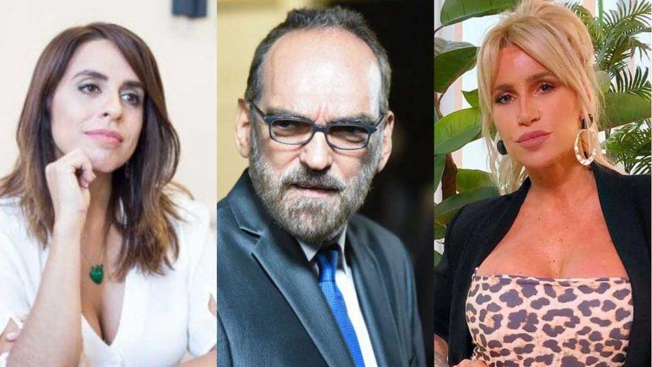 Victoria Donda, Fernando Iglesias y Florencia Peña 20210805
