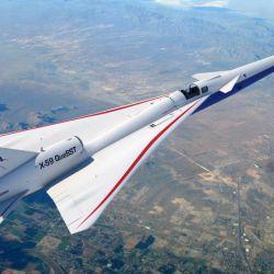 El X-59 también es conocido como QueSST, abreviación de Quiet SuperSonic Technology.