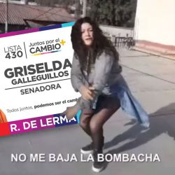 Griselda Galleguillos, la candidata rapera de Salta | Foto:cedoc