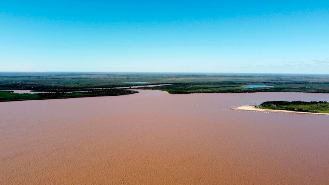 The Paraná River in Rosario, Argentina.