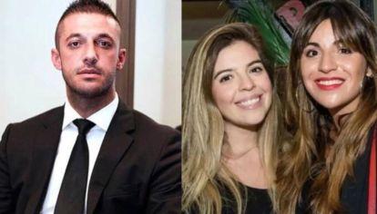 Matías Morla, Dalma y Gianinna Maradona