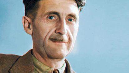 George Orwell. Se llamaba Eric Arthur Blair.