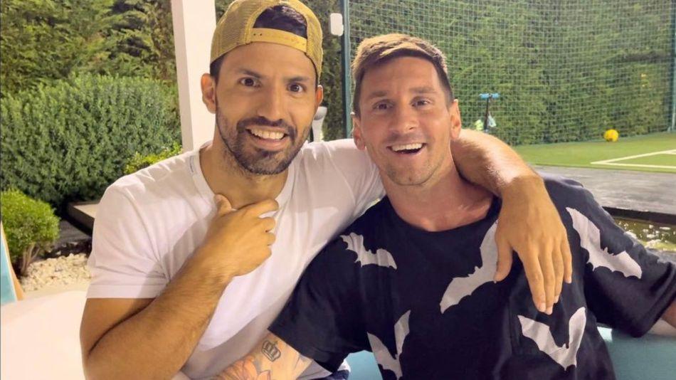 Agüero y Messi